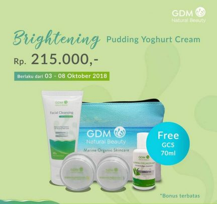 Brightening Pudding Yoghurt Cream