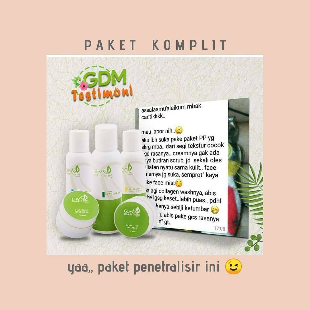 testimoni kosmetik halal gdm beauty secret